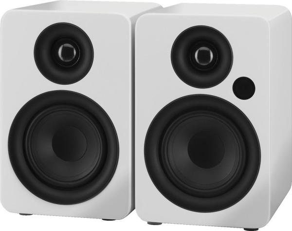 Aktives 2-Wege-Stereo-Lautsprecherboxen-System SOUND-4BT/WS