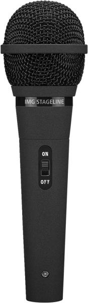 IMG Stage Line DM-2100 Dynamisches Mikrofon für Sprache, Disco und Standardanwendungen