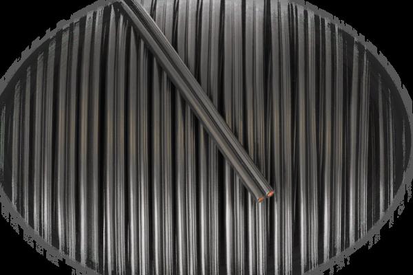 GOLDKABEL SPEAKER-FLEX Lautsprecherkabel 2x4mm² transparent