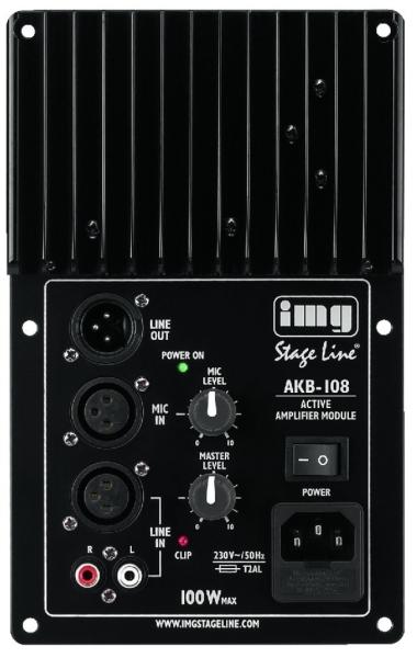 Aktives Mono-Lautsprecher-Modul AKB-108 von Monacor