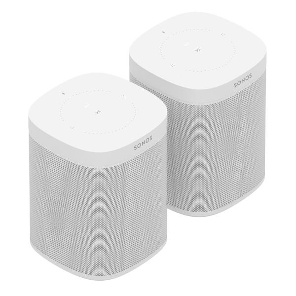 Speaker-Set für zwei Räume mit dem Sonos One