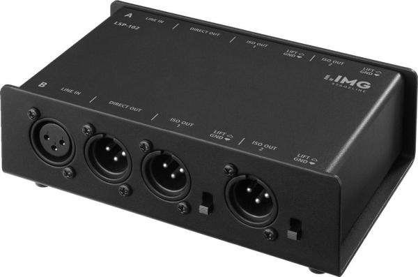 2-Kanal-3-fach-Line-Splitter LSP-102