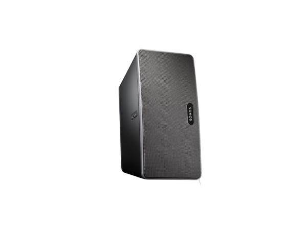 Sonos PLAY:3 schwarz All-in-One Sonos-Player mit großem Sound in einem kompakten Format, streame alle Musik der Welt wireless in jeden Raum