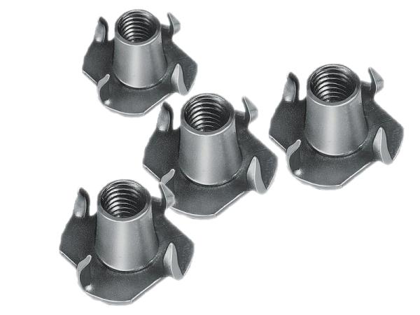 Einschlagmutter M5 für die Befestigung von Lautsprechern