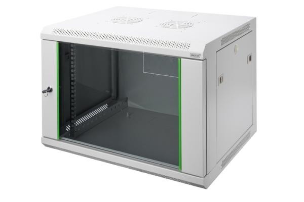 DIGITUS Wandgehäuse Dynamic Basic Serie - 600x450 mm (BxT) DN-19 07-U-EC