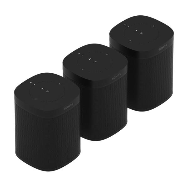 Speaker-Set für drei Räume mit dem Sonos One