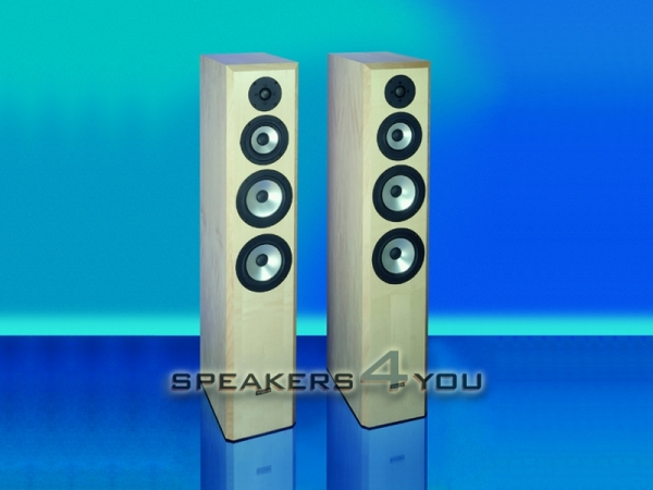 Visaton ATLANTIS MK II Lautsprecherbausatz ohne Gehäuse