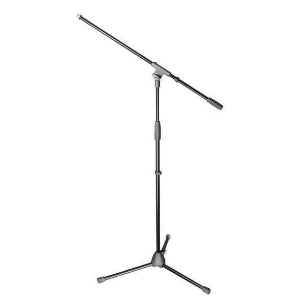 Mikrofonständer Adam Hall Stands S 5 BE mit Schwenkarm schwarz