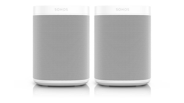 Sonos One Bundle weiß - 2x Sonos One im Doppelpack