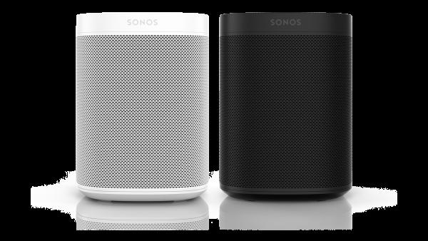 Sonos One Bundle weiß/schwarz - 2x Sonos One im Doppelpack