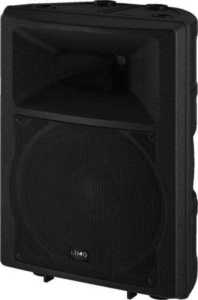 IMG Stage Line PAB-112MK2 DJ- und Power-Lautsprecherbox, 250 W, 8 Ω