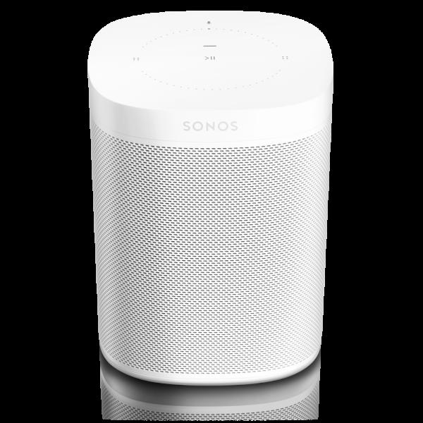 Sonos One - Der Smart Speaker für Musikliebhaber in weiß mit elegantem Matt-Finish
