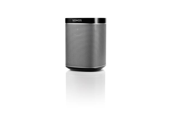 Sonos PLAY:1 schwarz, der kompakte Wireless-Lautsprecher mit sattem, kristallklarem HiFi-Sound, tiefem Bass und jeder Menge Power