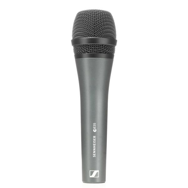 Sennheiser Live Gesangsmikrofon e 835 mit Mikrofonklemme und Tasche