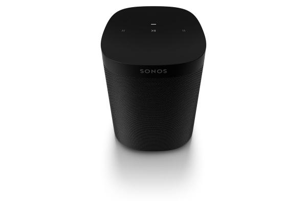 Sonos One SL schwarz - WLAN-Speaker für Musikstreaming
