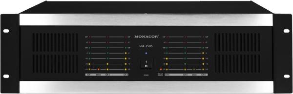 STA-1506 Mehrkanal-PA-Verstärker mit integriertem Limiter - Frontseite