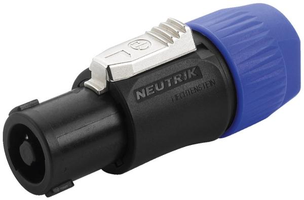 NL-4FC NEUTRIK-SPEAKON Lautsprecher Kabelsteckverbinder