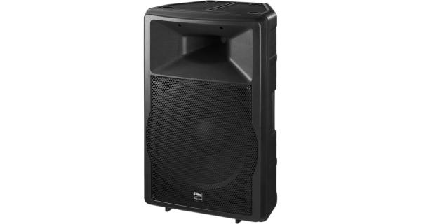 IMG Stage Line PAB-115MK2 DJ- und Power-Lautsprecherbox, 500 WMAX, 8 Ohm, Leistungsstarkes Fullrange-System mit hohem Wirkungsgrad