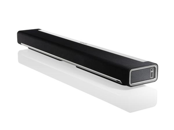Sonos PLAYBAR - Die Soundbar für Musikfans, mit neun Lautsprechern überflutet dein Zuhause mit gewaltigem Kinosound für TV, Filme & Spiele