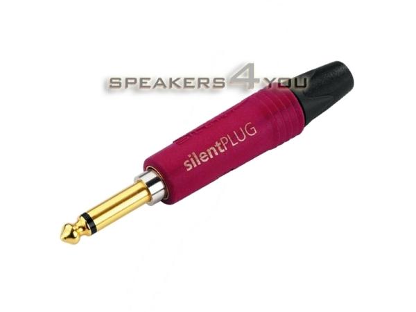 NEUTRIK-6,3-mm-Mono-Klinkenstecker mit Stummschaltungsfunktion, vergoldete Kontakte