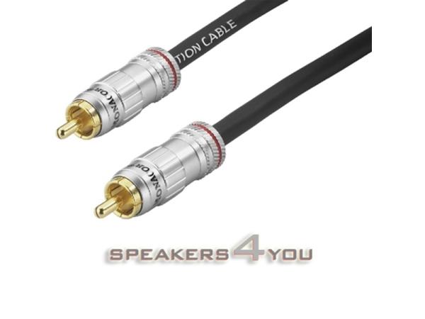 Professionelles Digital-Audio-Verbindungskabel, 75 Ohm