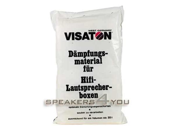 Visaton Dämpfungsmaterial 125 g, 2 Matten