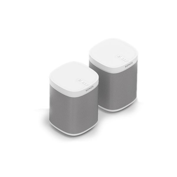 Speaker-Set für zwei Räume mit dem Play:1 in weiß